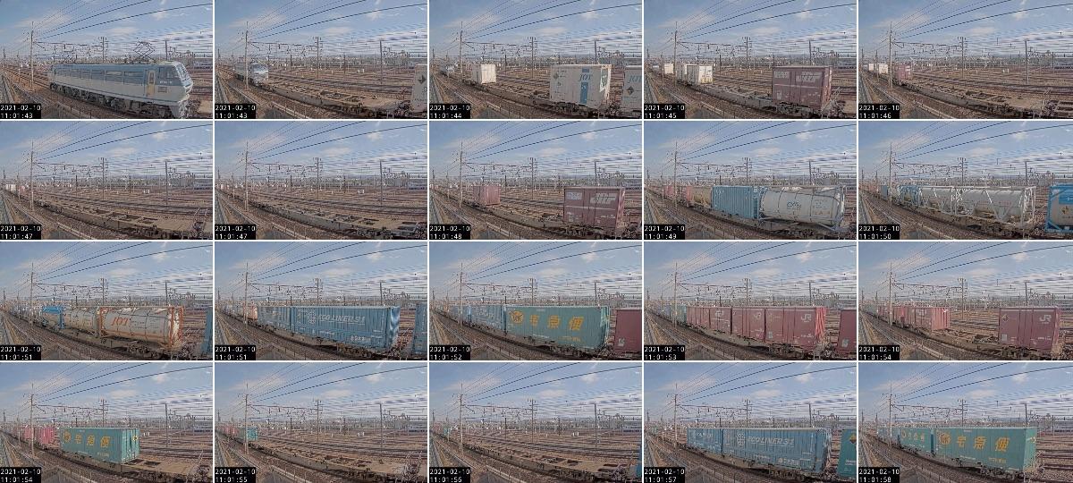 2021年2月10日発 2062レ(大阪貨物ターミナル → 東京貨物ターミナル)の列車編成